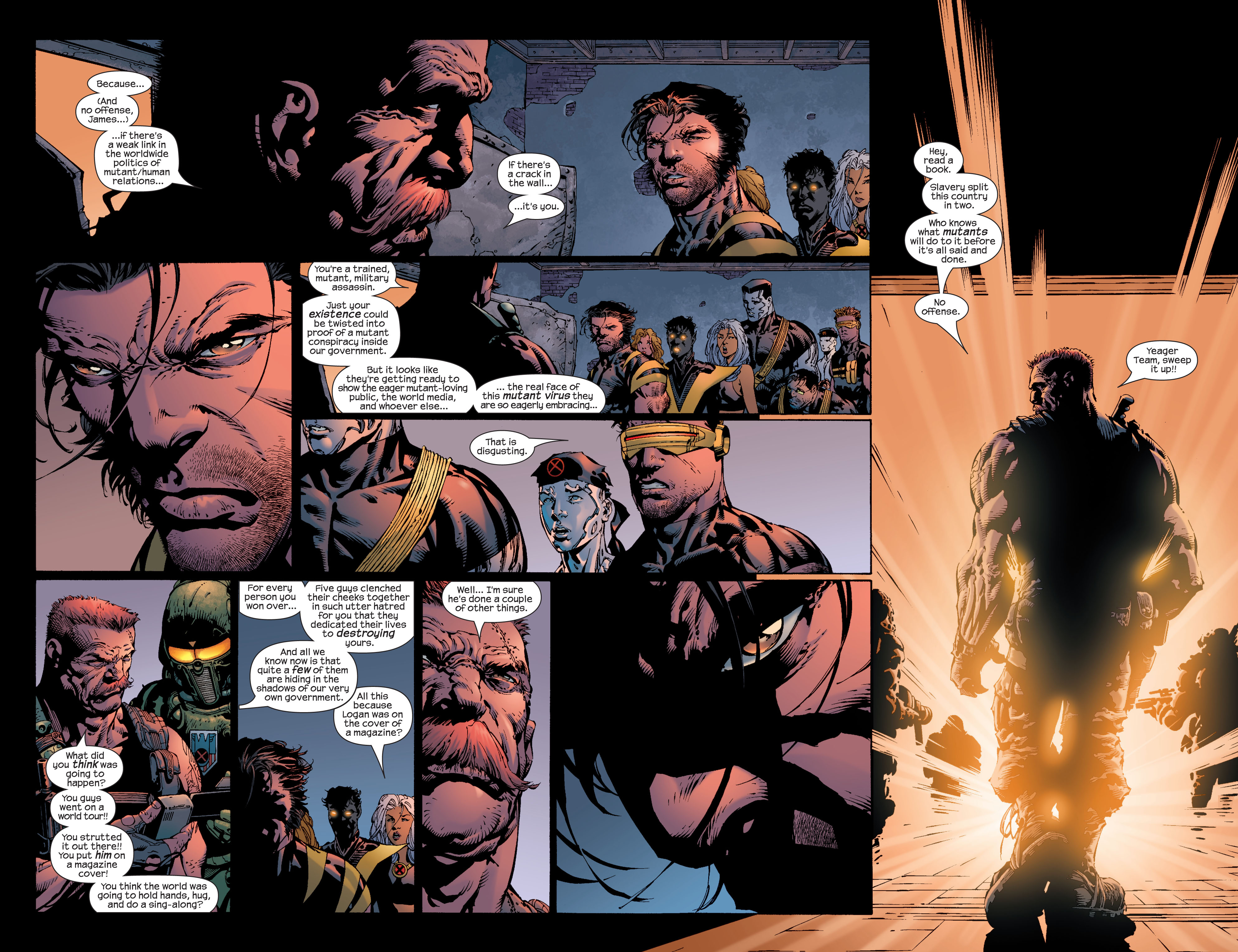 Read online Ultimate X-Men comic -  Issue #39 - 17