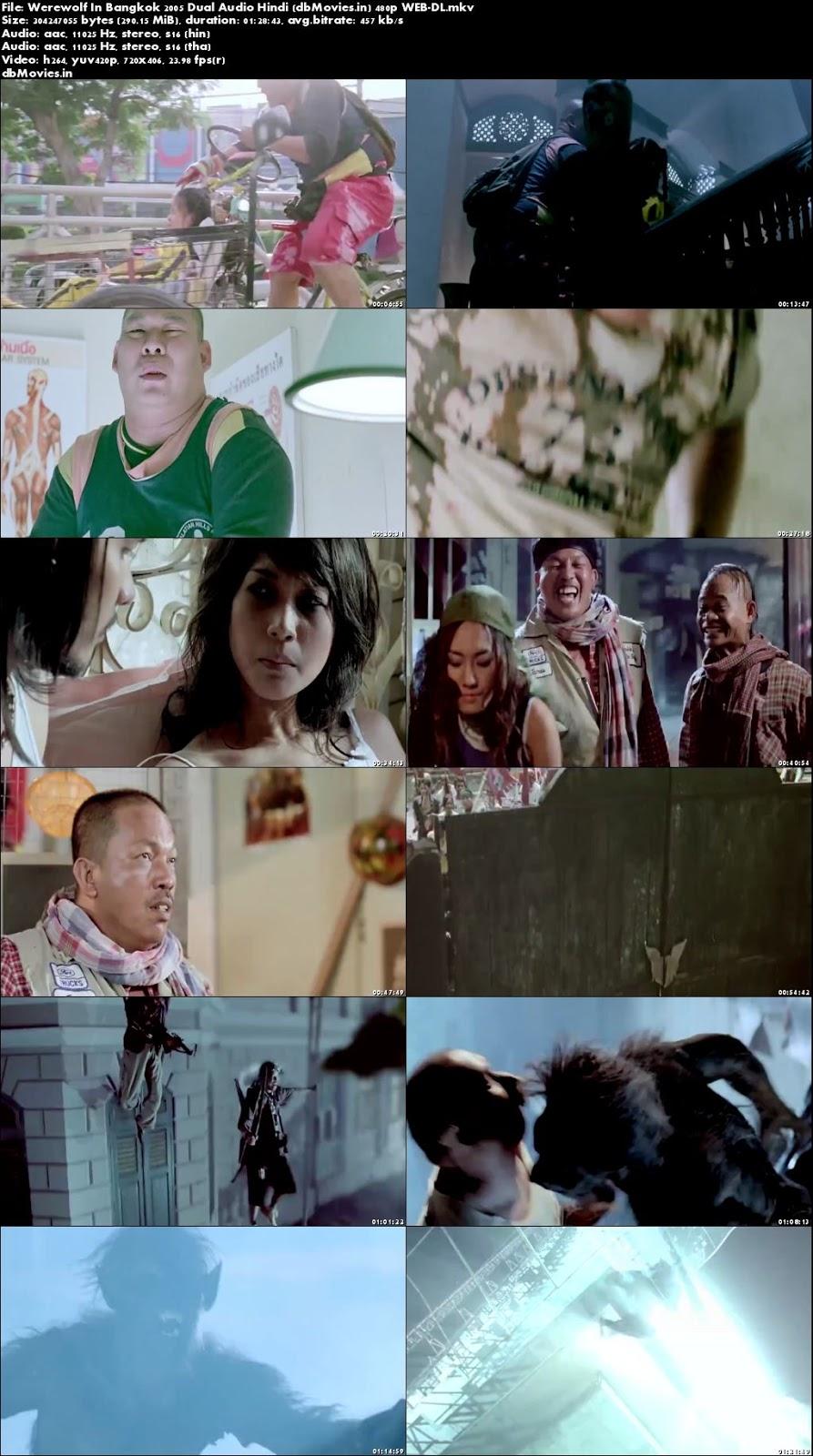 Poster Werewolf In Bangkok 2005 Full Movie Dual Audio Hindi Free Download 300Mb