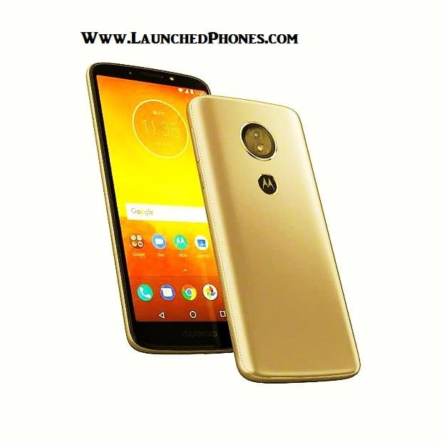 This outcry upwards became the latest Motorola Smartphone alongside the Android Go Moto E5 Play 2018 launched later on E5 Plus