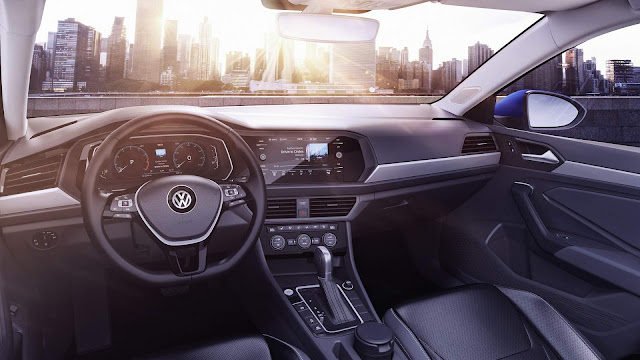 Novo VW Jetta 2019 - interior