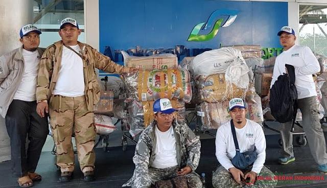 FPI Banten Kirim 1,4 ton Bantuan untuk Gempa Lombok
