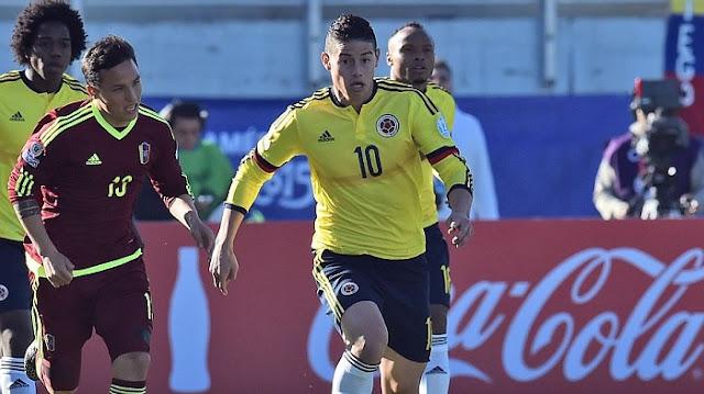 Colombia vs Venezuela en vivo Clasificación Rusia 2018