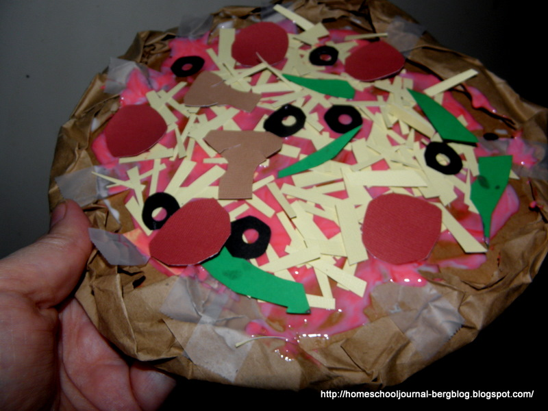 All Things Beautiful Paper Pizzas