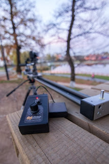 Timelapse Motor Controller on Camera Slider