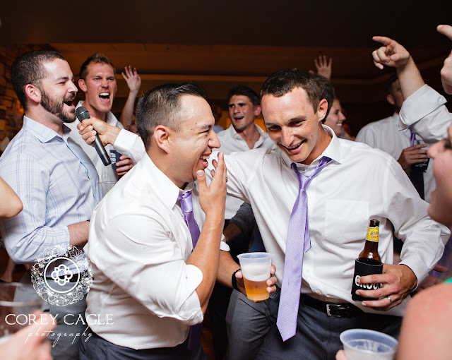 singing groomsmen | Corey Cagle Photography
