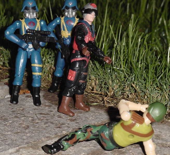2004 Urban Assault Scrap Iron, Cobra Trooper, 1995 Night Fighter Guile, Alpinista, Brazil, estrela, Hit and Run