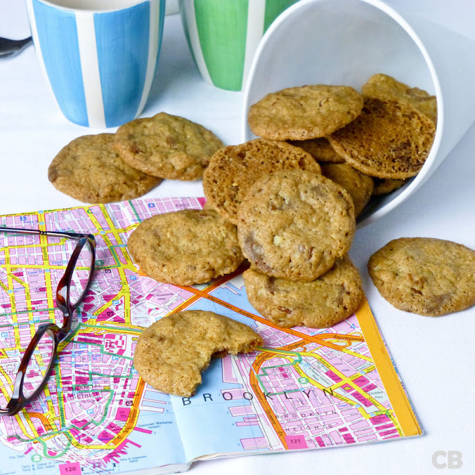 Recept Chocolate chip cookies met pecannoten