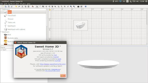 SweetHome3D под Ubuntu 16.04