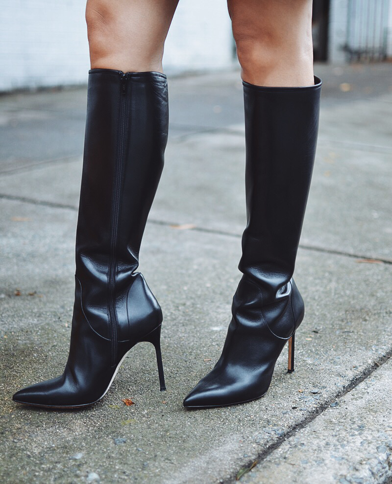 Classic tall boots street style