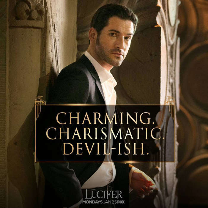 Sympathy For The Devil Tom Ellis Is Having A Hell Of A: The Horror Honeys: Lucifer S2: E1
