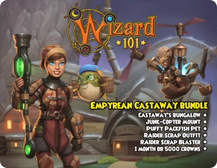 Wizard101 Empyrea Castaway Bundle