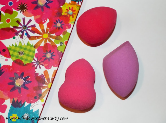 The Beauty Blender shapes