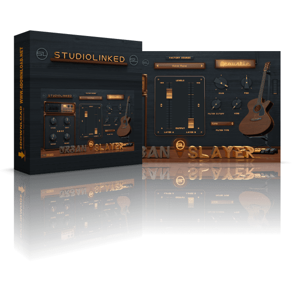 StudioLinked Urban Slayer Acoustic v1.0 Full version
