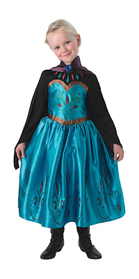 Disney Frozen anna elsa fancy dress costume