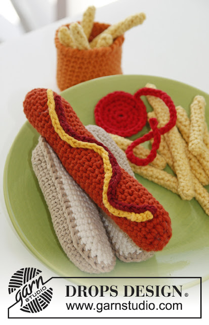 Hot dog au crochet