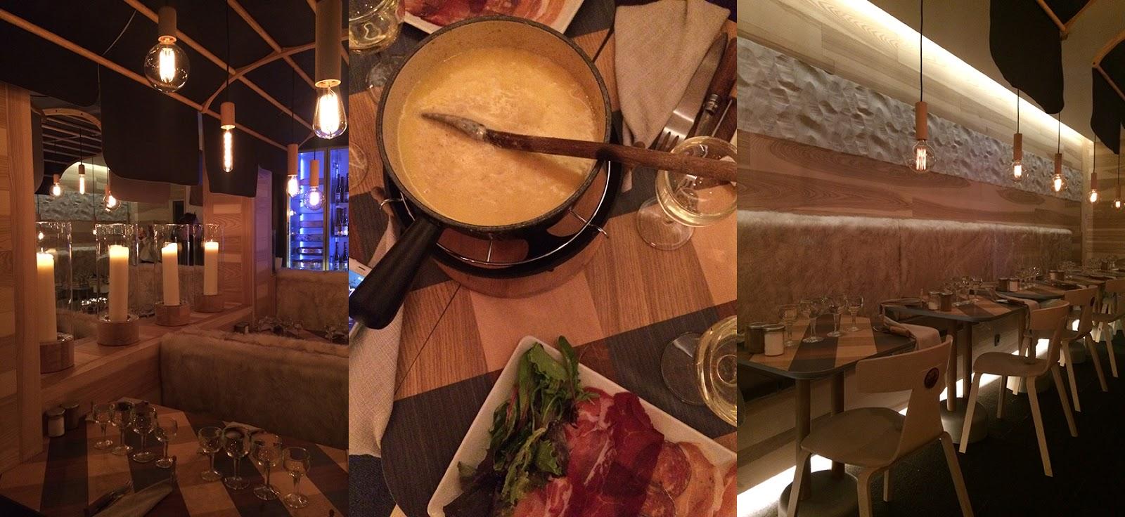 Restaurant Chamois à Megève