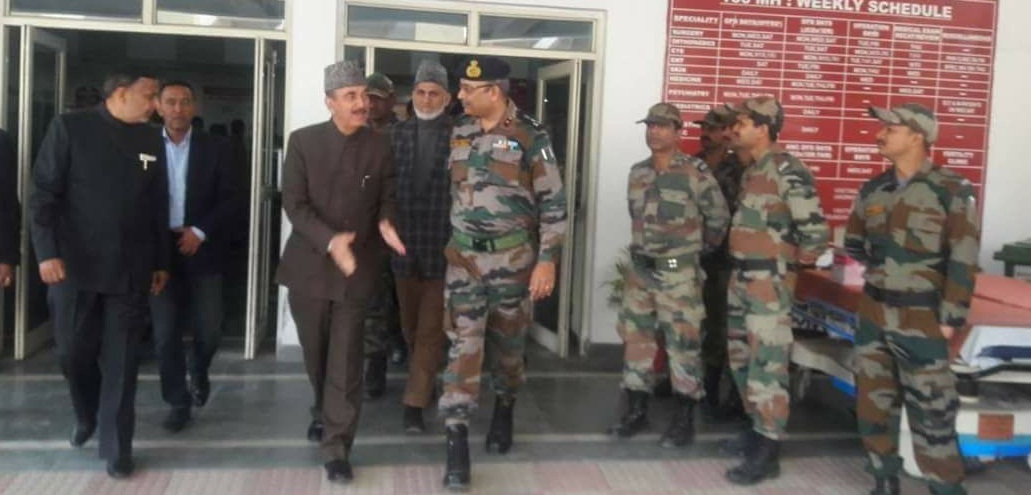 Image result for army and ghulam nabi azad