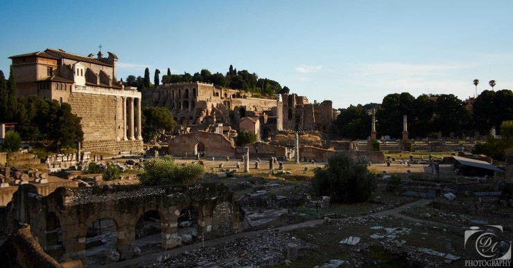 The Roman Forum – an Evidence of the Roman Greatness in Italy