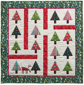 Free Quilt Christmas Patterns To Download : Quilt Inspiration: Free pattern day: Christmas quilts (part 1): Trees!