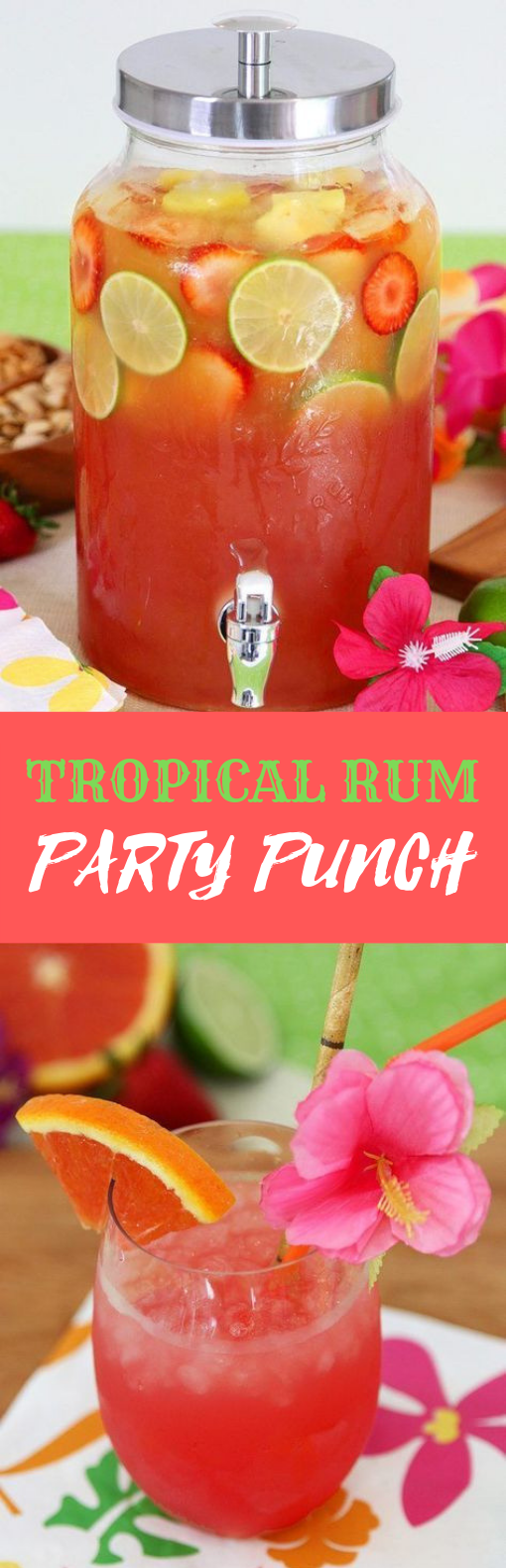 Tropical Rum Punch Recipe #Drink #Rum