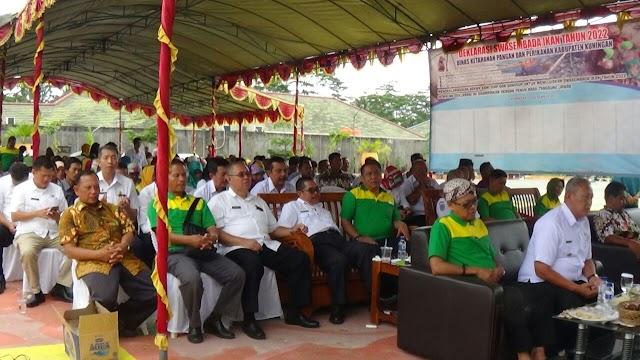 DKPP Kuningan Gelar Peringatan Hari Pangan Sedunia Tingkat Kabupaten