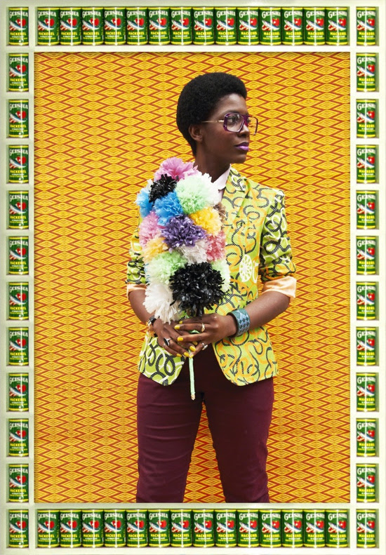 Safari Fusion blog >> [Photographer] Hassan Hajjaj | Afro-pop style photographic portraits by Moroccan photographer Hassan Hajjaj