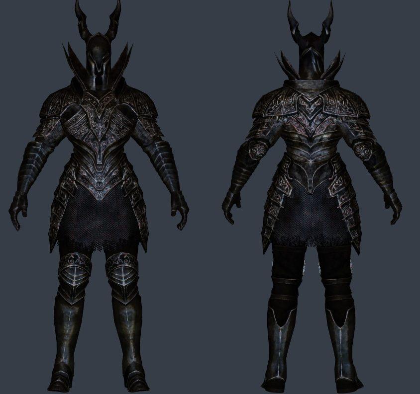 DS Black Knight Set Retouched ~ Eskyrim