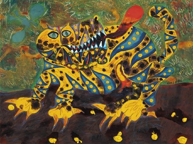 Hugo Longa - Magical Painting and Surreal Iconography