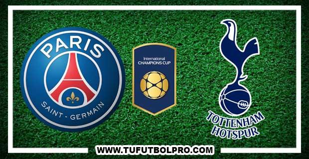 Ver PSG vs Tottenham EN VIVO Por Internet Hoy 22 de Julio 2017