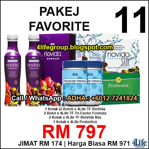 foto Pakej Favorite 11 - 4Life Malaysia