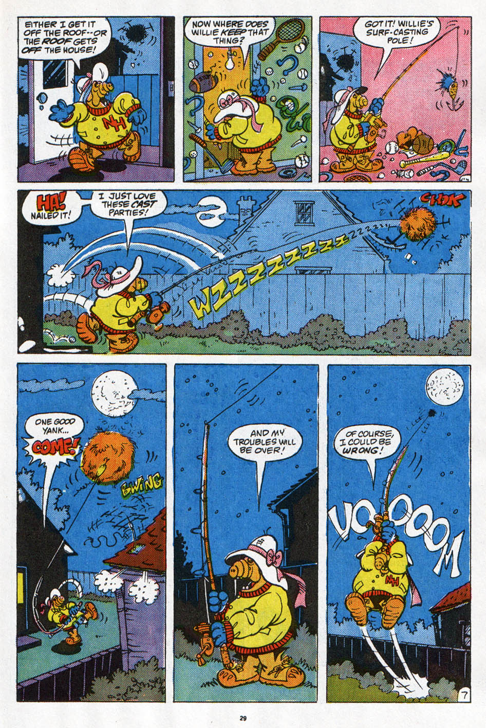 Read online ALF comic -  Issue #6 - 23
