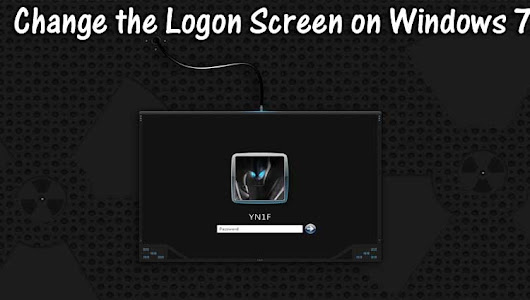 How To Change Windows 7 Logon Screen - Online Classes