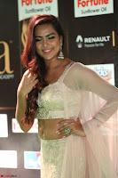 Prajna Actress in backless Cream Choli and transparent saree at IIFA Utsavam Awards 2017 0082.JPG