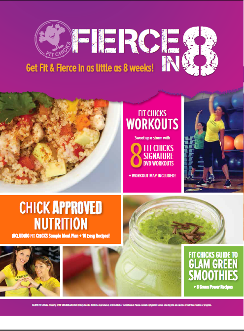 Image of Fierce in 8 Nutrition Guide Cover