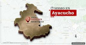 Temblor en Ayacucho de 3.9 Grados (Hoy Sábado 23 Septiembre 2017) Sismo EPICENTRO Coracora - Parinacochas - Pampamarca - IGP - www.igp.gob.pe