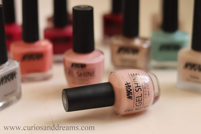 Nykaa nail polish, nykaa gel polish, review, swatch