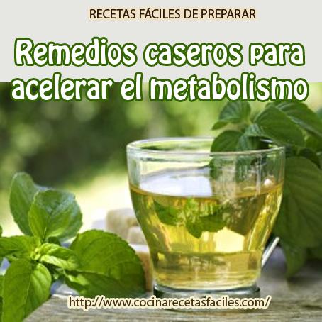 Remedios caseros para acelerar el metabolismo - Cocina ...