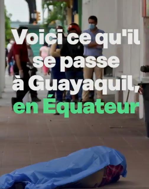 Les images CHOC en Equateur de la ville de Guayaquil (Âmes sensibles, s'abstenir) ,  ⚡#Coronavirus : En Equateur, les morts jonchent les rues de la ville de #Guayaquil L'#Equateur est le deuxième pays le plus touché d'Amérique du Sud par le #Covid_19,  après le Brésil #COVIDー19 #COVID19 (Ames sensibles, s'abstenir)