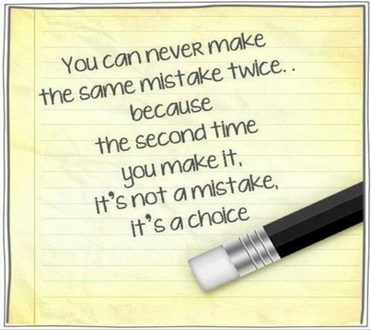 "Making The Same Mistake Twice Quotes: ""QUOTES BOUQUET: You Can Never Make The Same Mistake Twice"