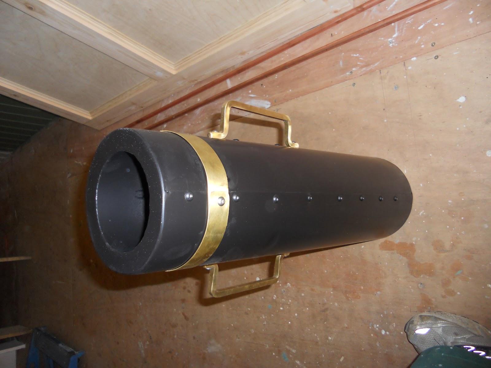 Harris Amp Watson Narrowboat Build Saloon Stove Flue
