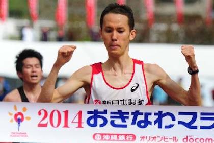中西拓郎初優勝!おきなわマラソン