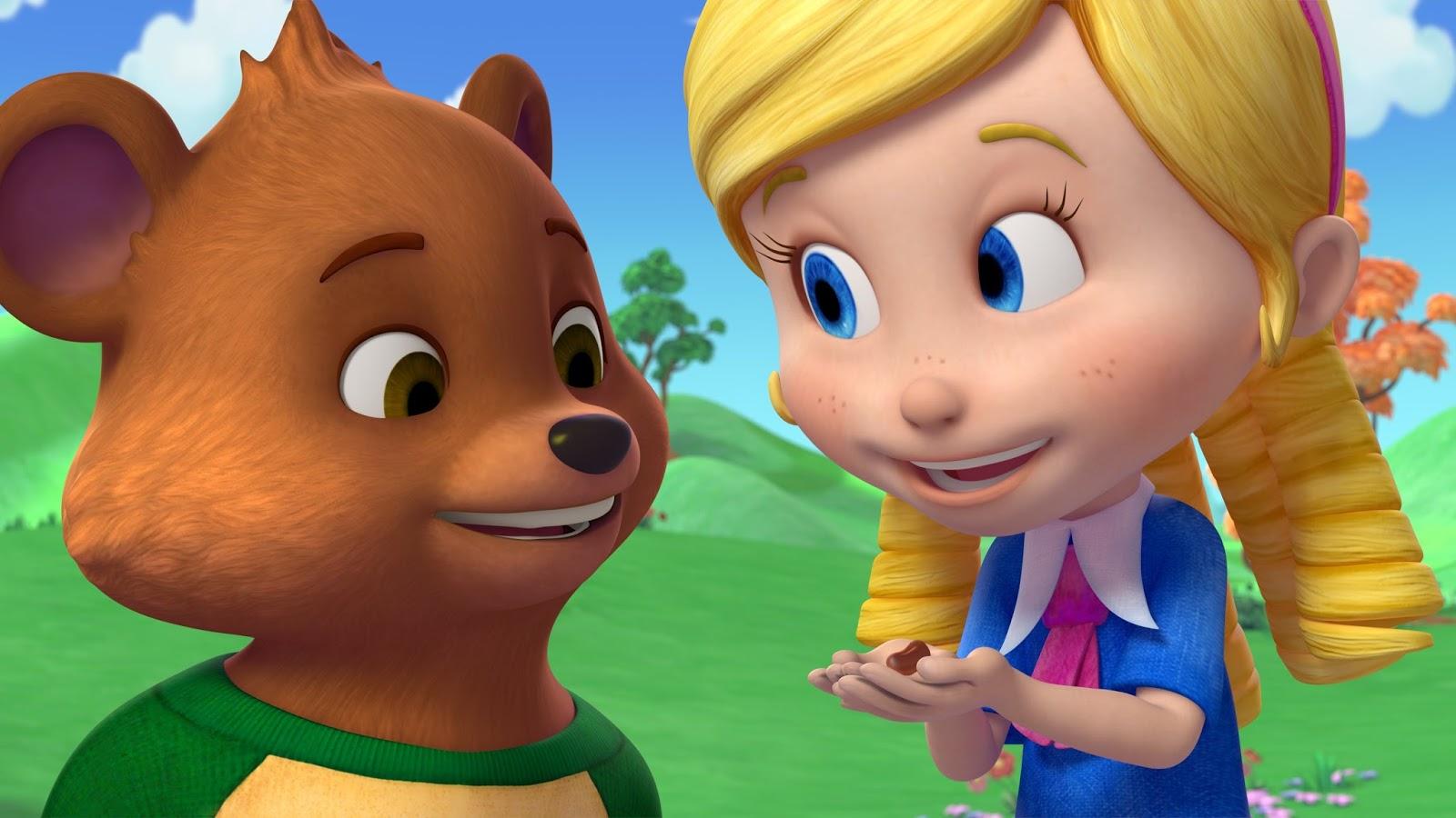 Goldie Y Osito Los Personajes De La Nueva Serie De Disney Junior