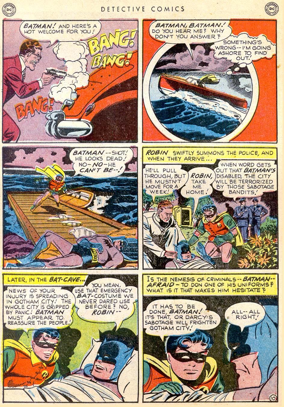 Detective Comics (1937) 165 Page 10