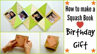 How to make a Squash Book.