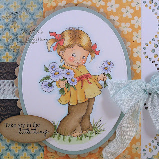 Heather's Hobbie Haven Fistful of Flowers Card Kit
