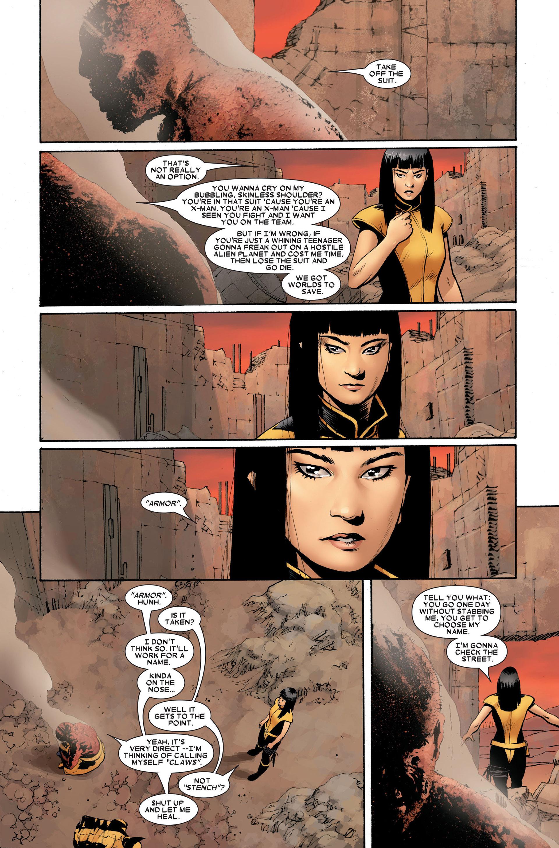 Read online Astonishing X-Men (2004) comic -  Issue #20 - 22