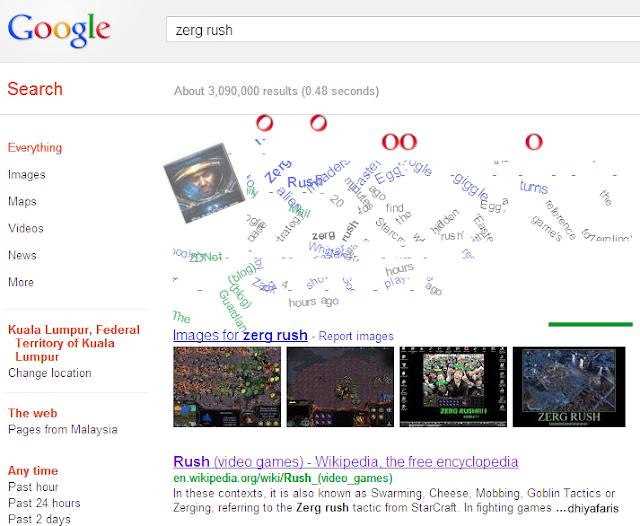 dhiyafaris google zerg rush