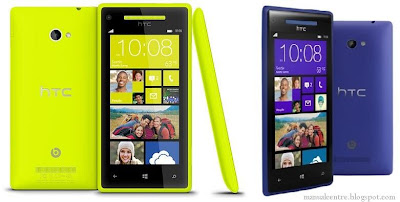 HTC Windows Phone 8S & 8X