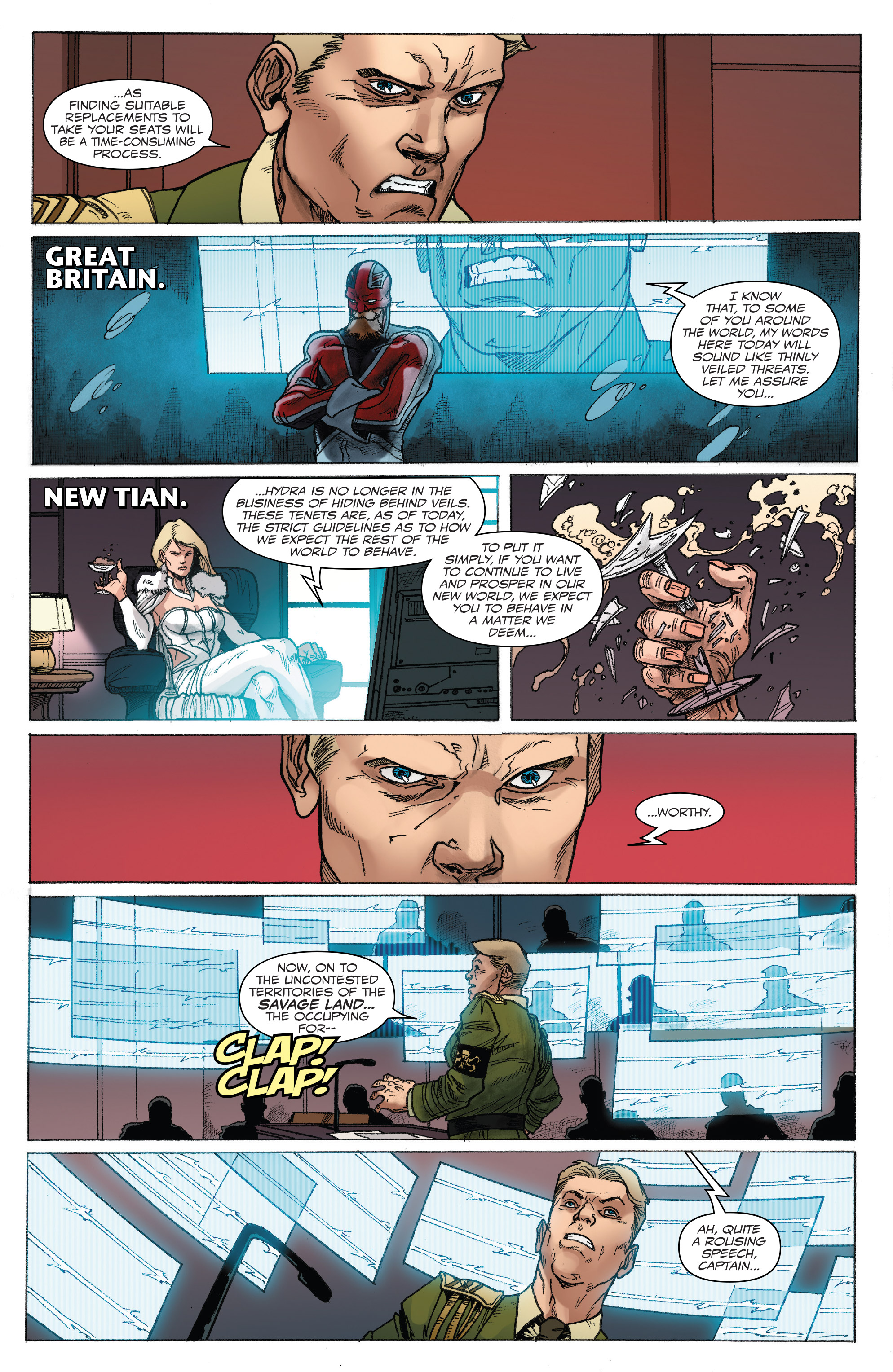 Read online Captain America: Steve Rogers comic -  Issue #18 - 16