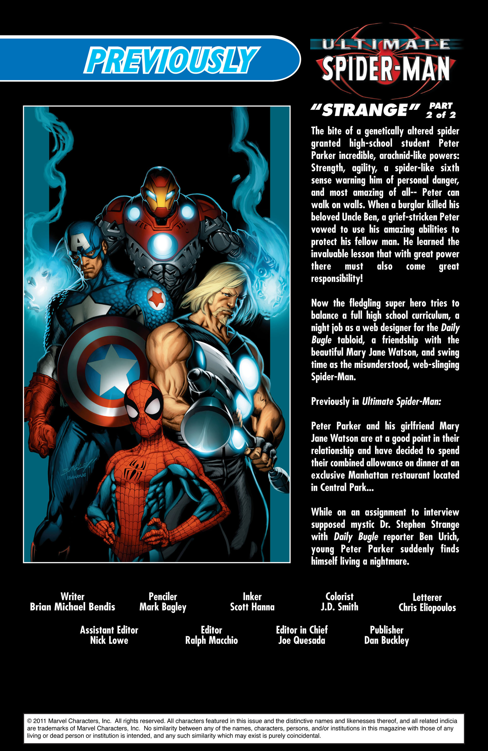 Read online Ultimate Spider-Man (2000) comic -  Issue #71 - 2